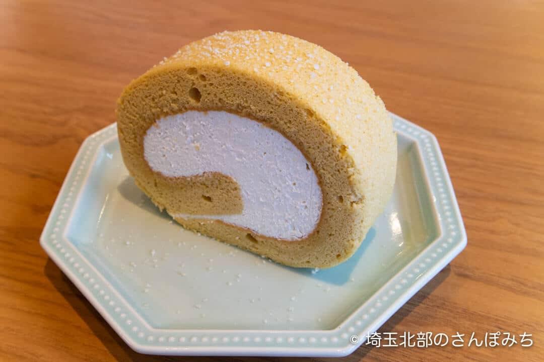 飯能・発酵のOH!!!塩麹ロールケーキ