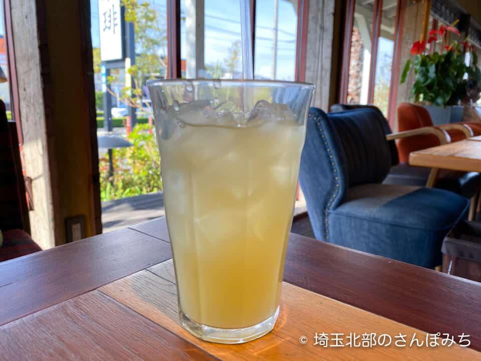 コナズ珈琲アップルジュース