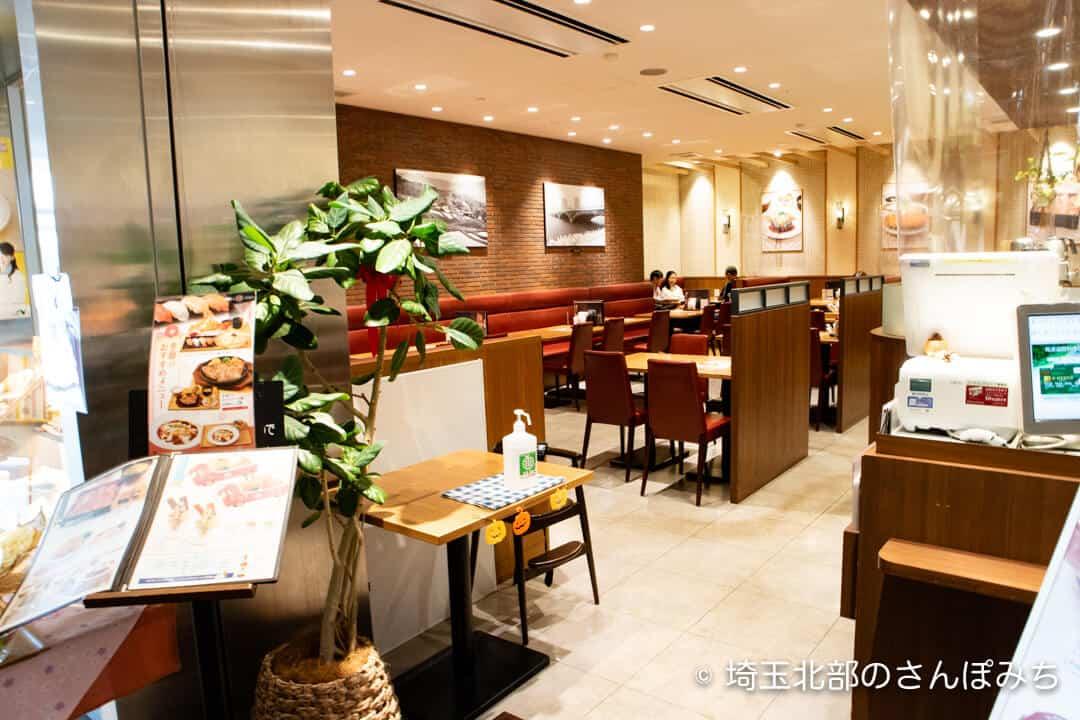 上里SA(上り)レストラン・グリル膳店内