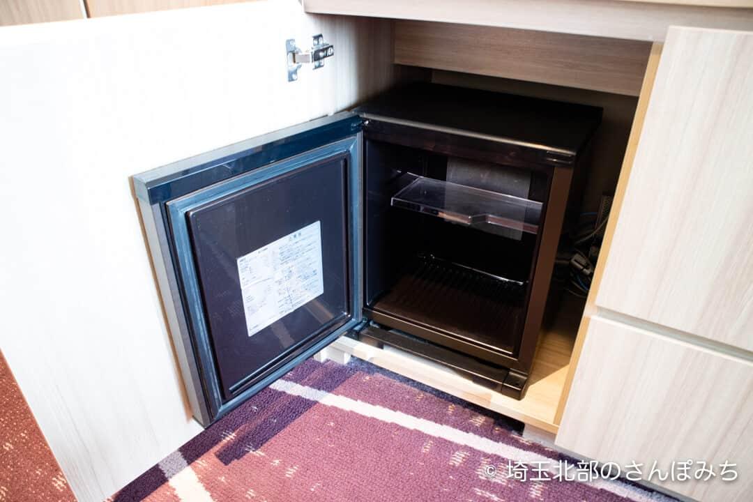 ホテルメトロポリタンさいたま新都心客室の冷蔵庫