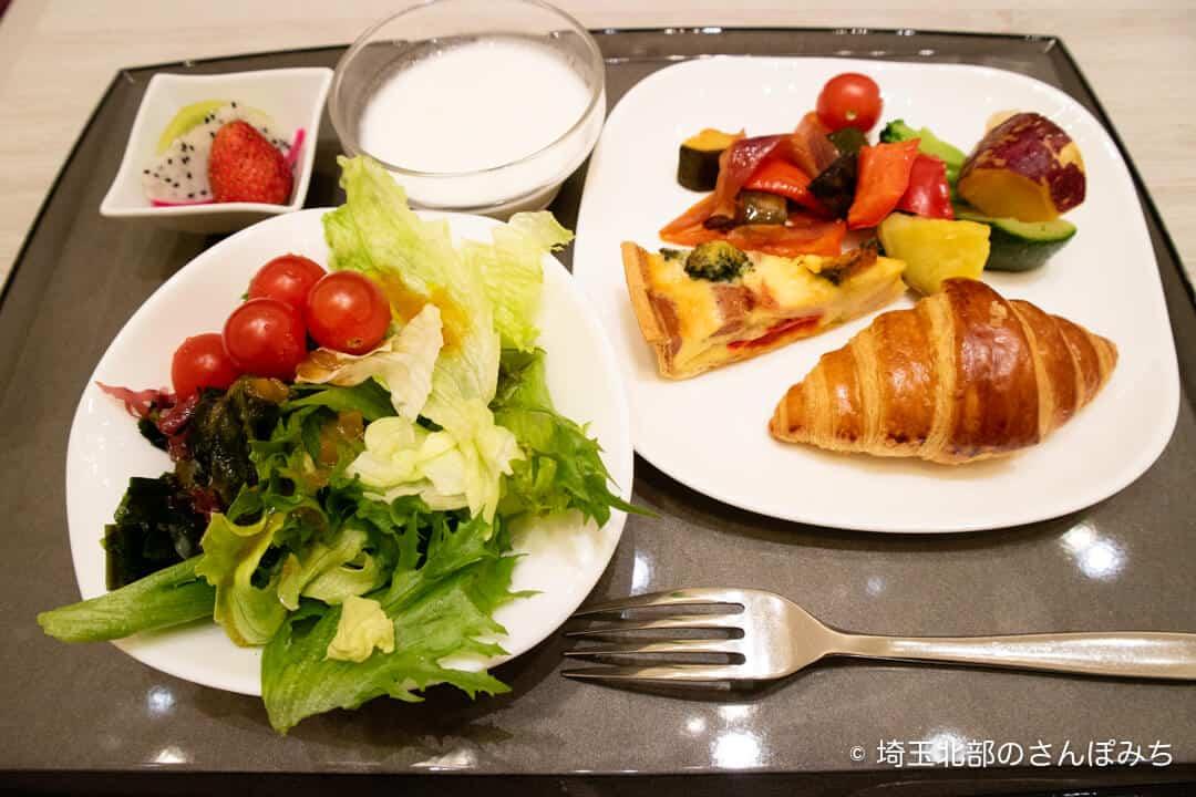 ホテルメトロポリタンさいたま新都心の朝食ブッフェ(洋食)