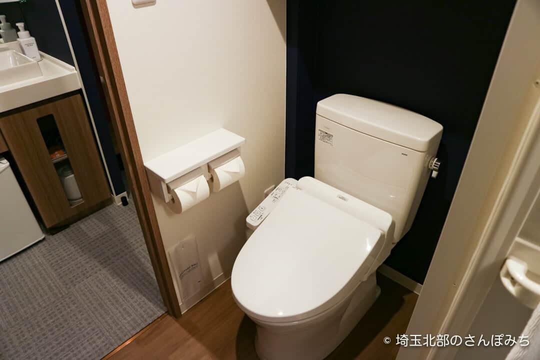 森林ホテル・ライオンズクラブルームのトイレ
