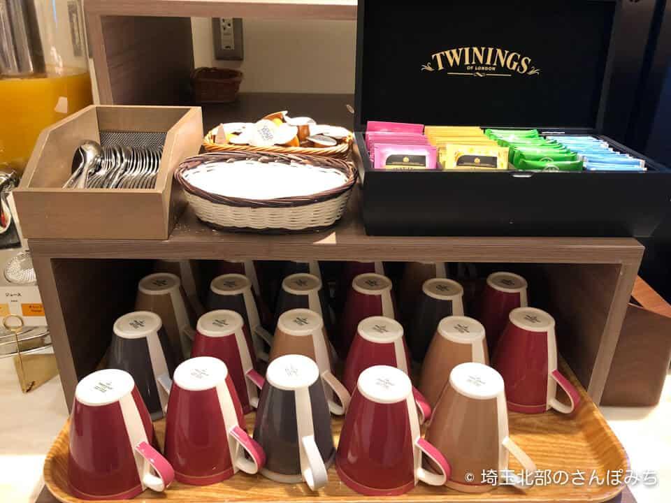 ホテルメトロポリタンさいたま新都心の朝食(紅茶)