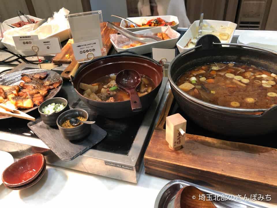 ホテルメトロポリタンさいたま新都心の朝食(和食)