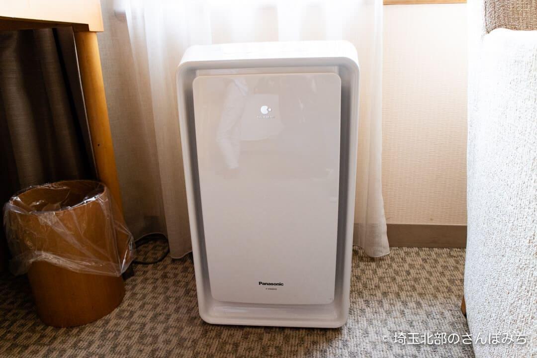 ロイヤルパインズホテル浦和・客室の加湿器