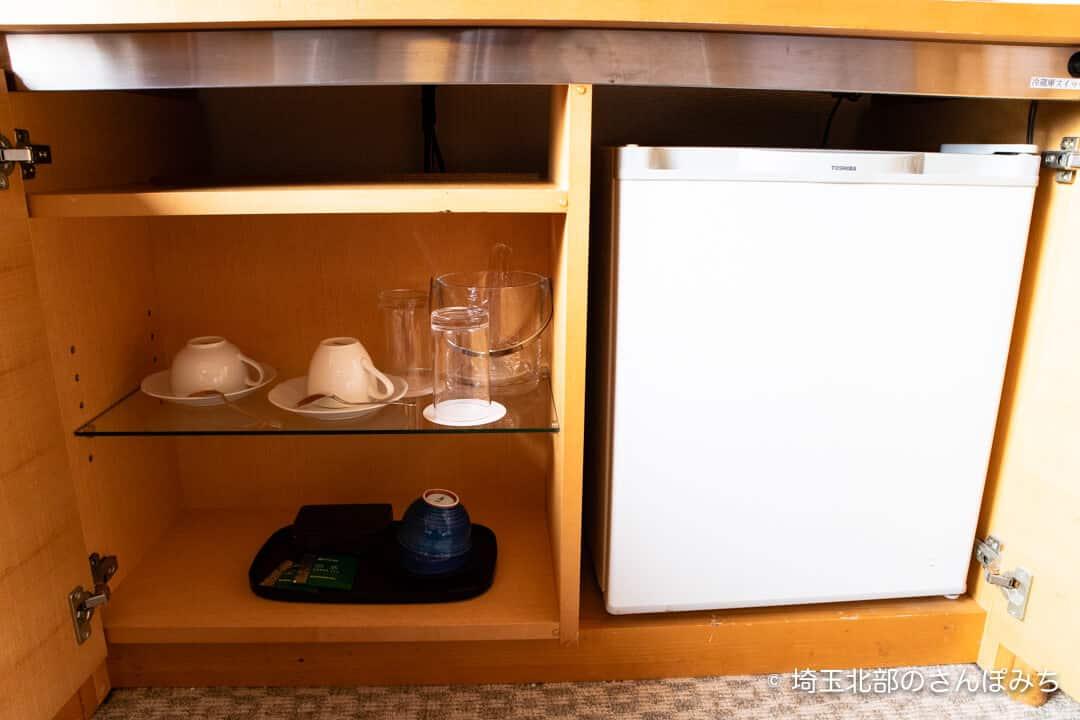ロイヤルパインズホテル浦和・客室の冷蔵庫