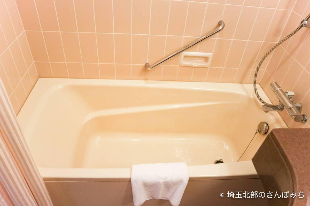 ロイヤルパインズホテル浦和・客室の風呂