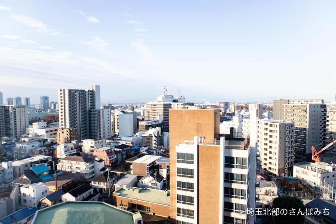 ロイヤルパインズホテル浦和・客室からの眺め