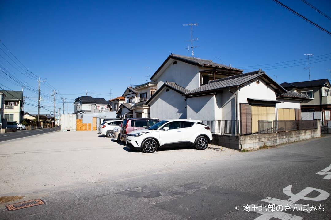 芋屋TATAの第2駐車場