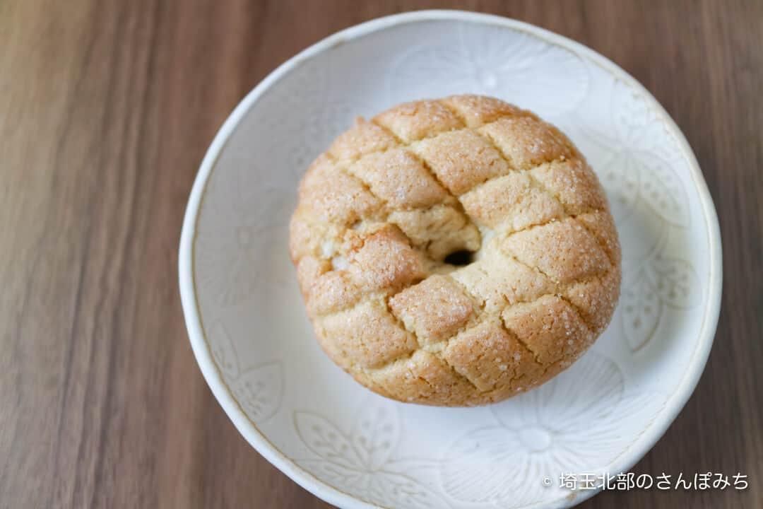 本庄・つむぎベーグルのメロンパン