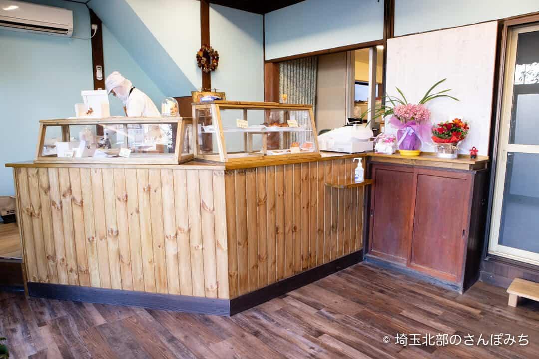 行田・パン屋SORA(そら)の店内