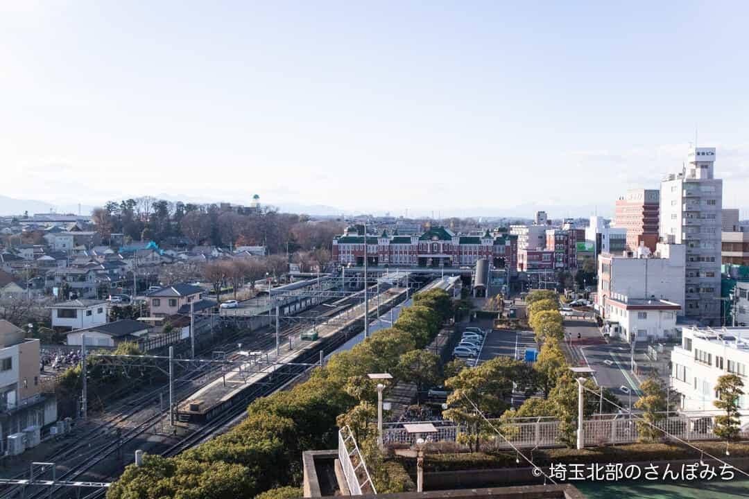 埼玉グランドホテル深谷グランドふっかちゃんルームの景色