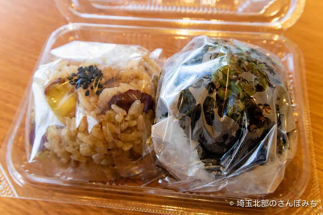 三芳PA(上り)にぎり玉のおにぎり2個