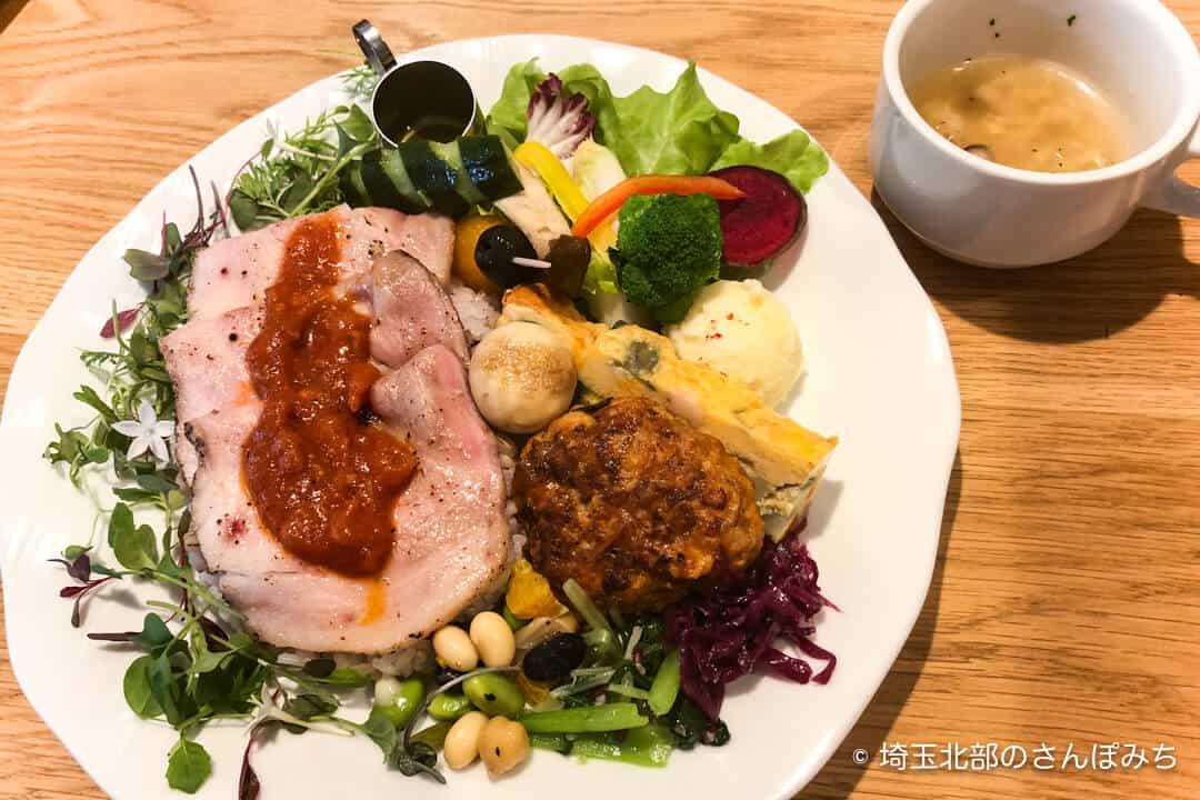 鴻巣・きららカフェ日替わりランチ