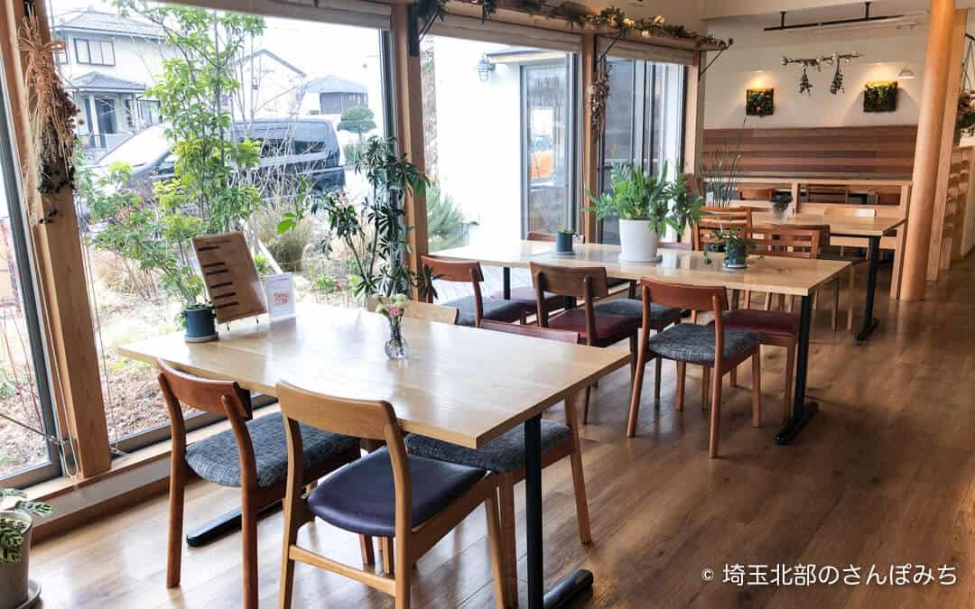 鴻巣・きららカフェの店内
