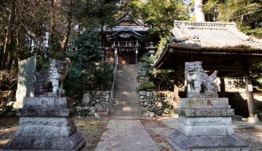 嵐山町・鎌形八幡神社の狛犬