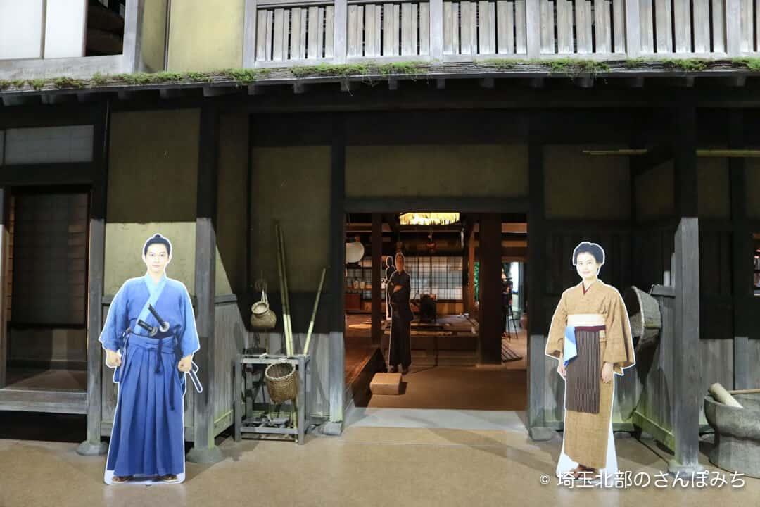 渋沢栄一青天を衝け深谷大河ドラマ館・展示入口