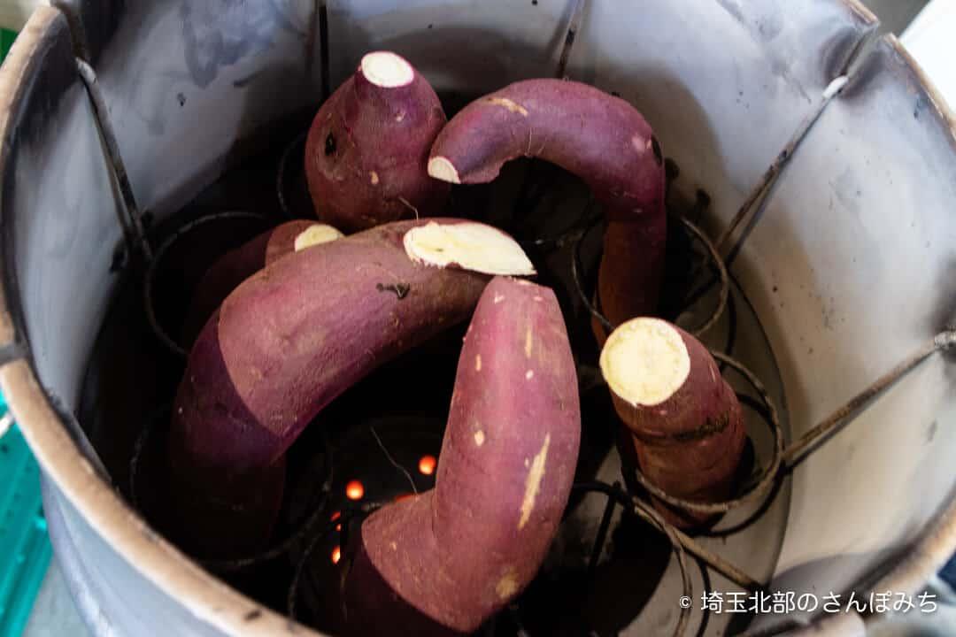大宮の八百屋・サイバイマンの焼き芋