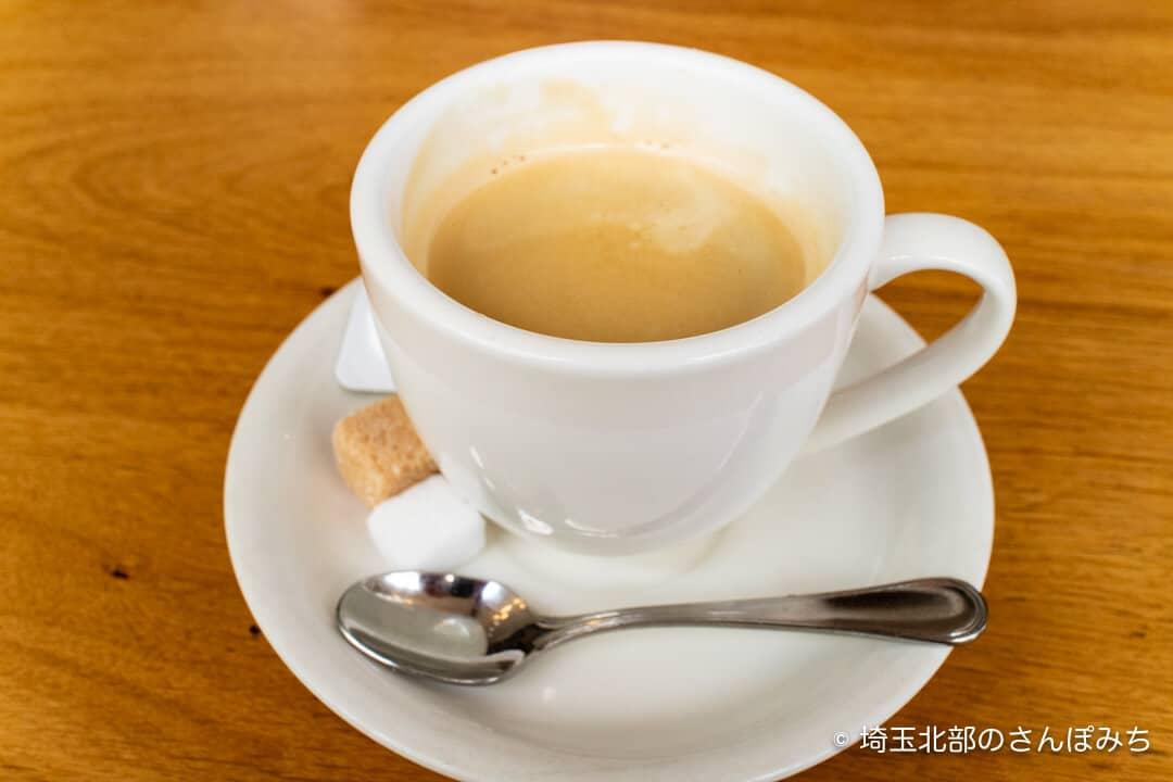 鴻巣・アドマーニ・ランチのコーヒー