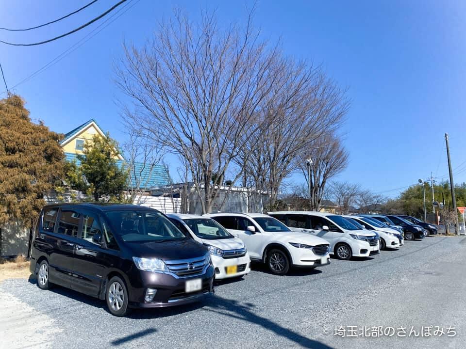 鴻巣・アドマーニの駐車場