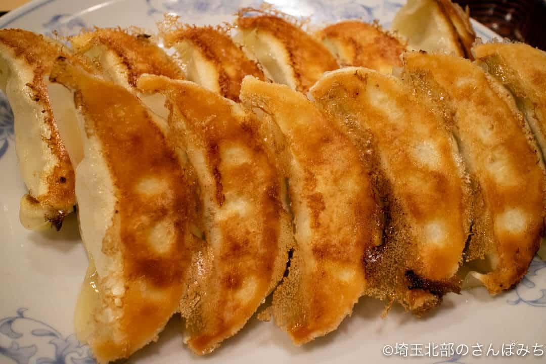 ぎょうざの満州の焼餃子12個