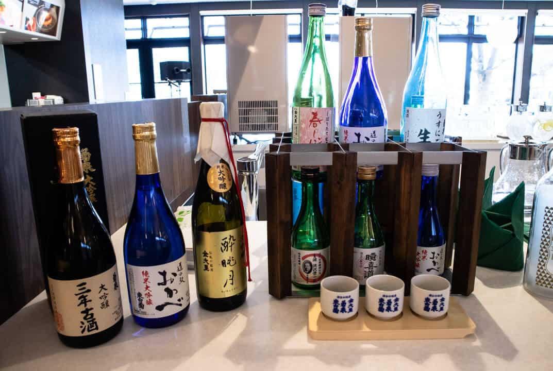 深谷・道の駅おかべNOLAの日本酒