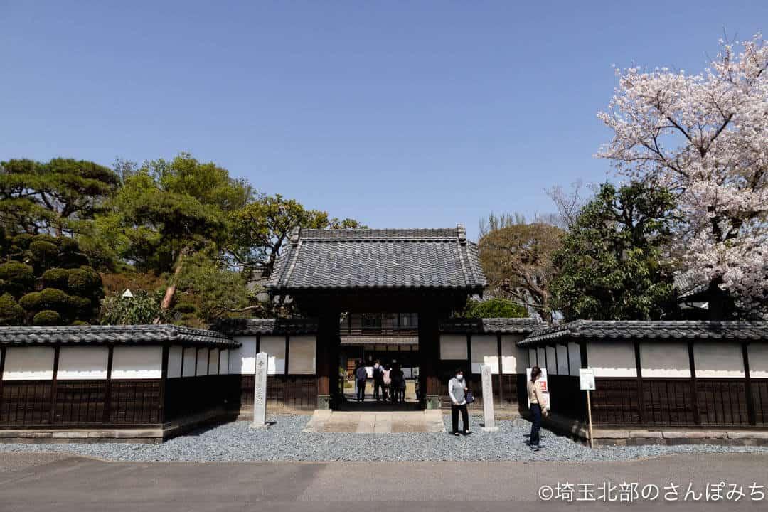 深谷・渋沢栄一生誕の地・中の家の門