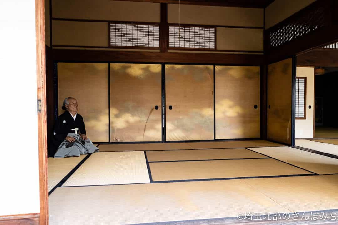 深谷・中の家・渋沢栄一の部屋