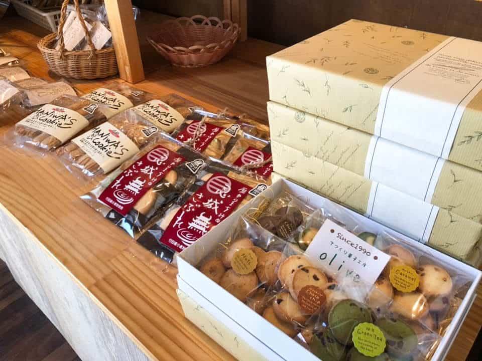 行田・菓子工房オリーブの焼き菓子