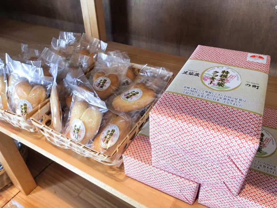 行田・菓子工房オリーブの足袋クッキー