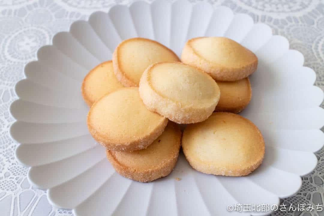行田・菓子工房オリーブクッキー(バター)中身