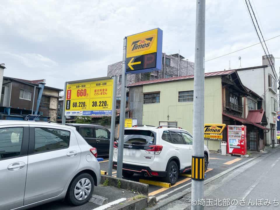 熊谷・ゴールデンタイガー駐車場