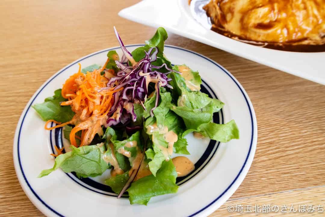 ヒナノ珈琲ランチのサラダ