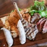 鴻巣・ニューノーマルカフェの肉盛り