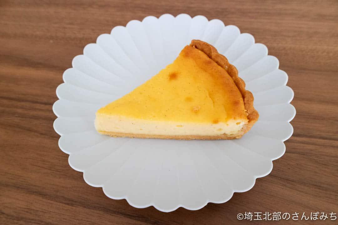 川越・やき菓子野里ベイクドチーズケーキのタルト