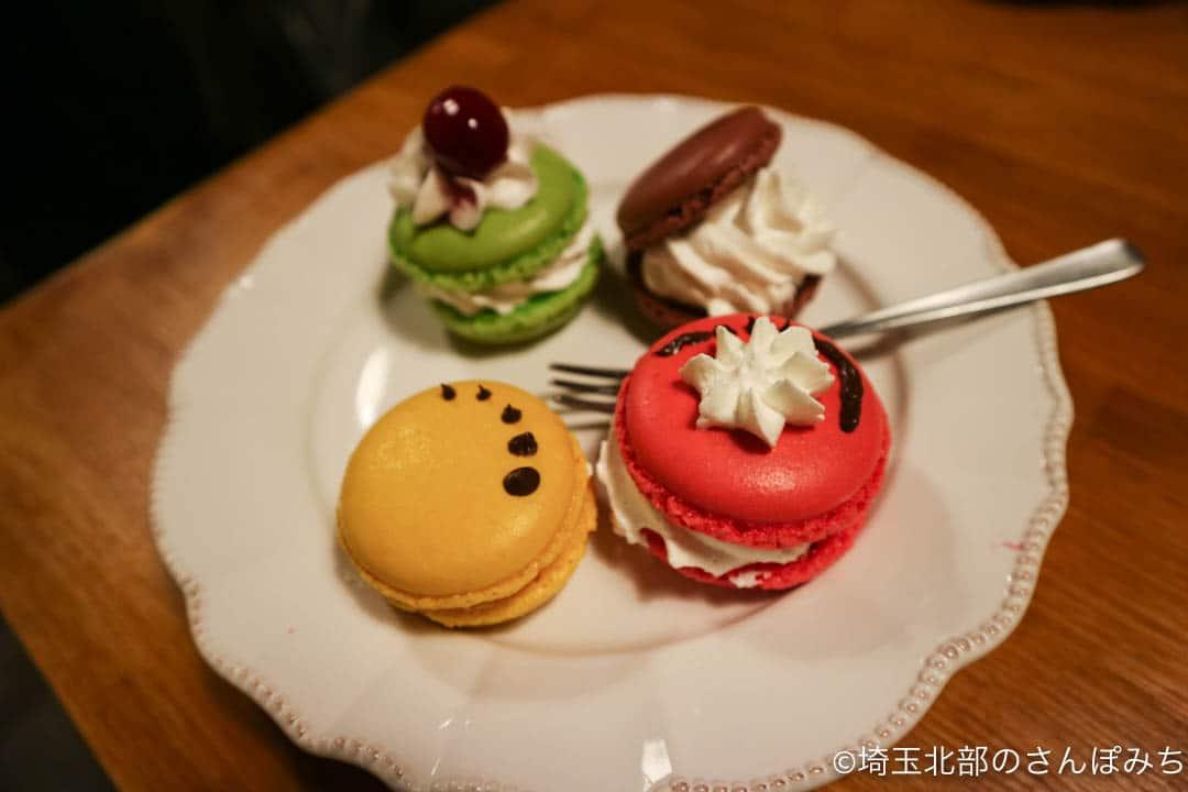 熊谷カフェ・カルペディエムのマカロン