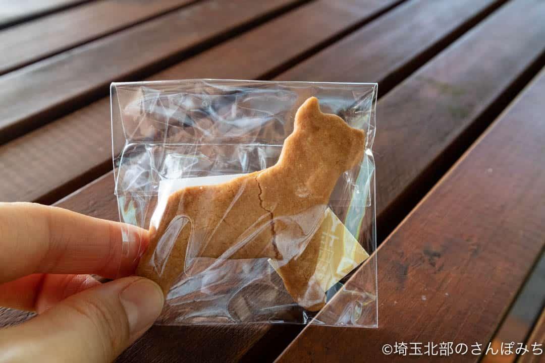 久喜菖蒲公園カフェビーコンのクッキー