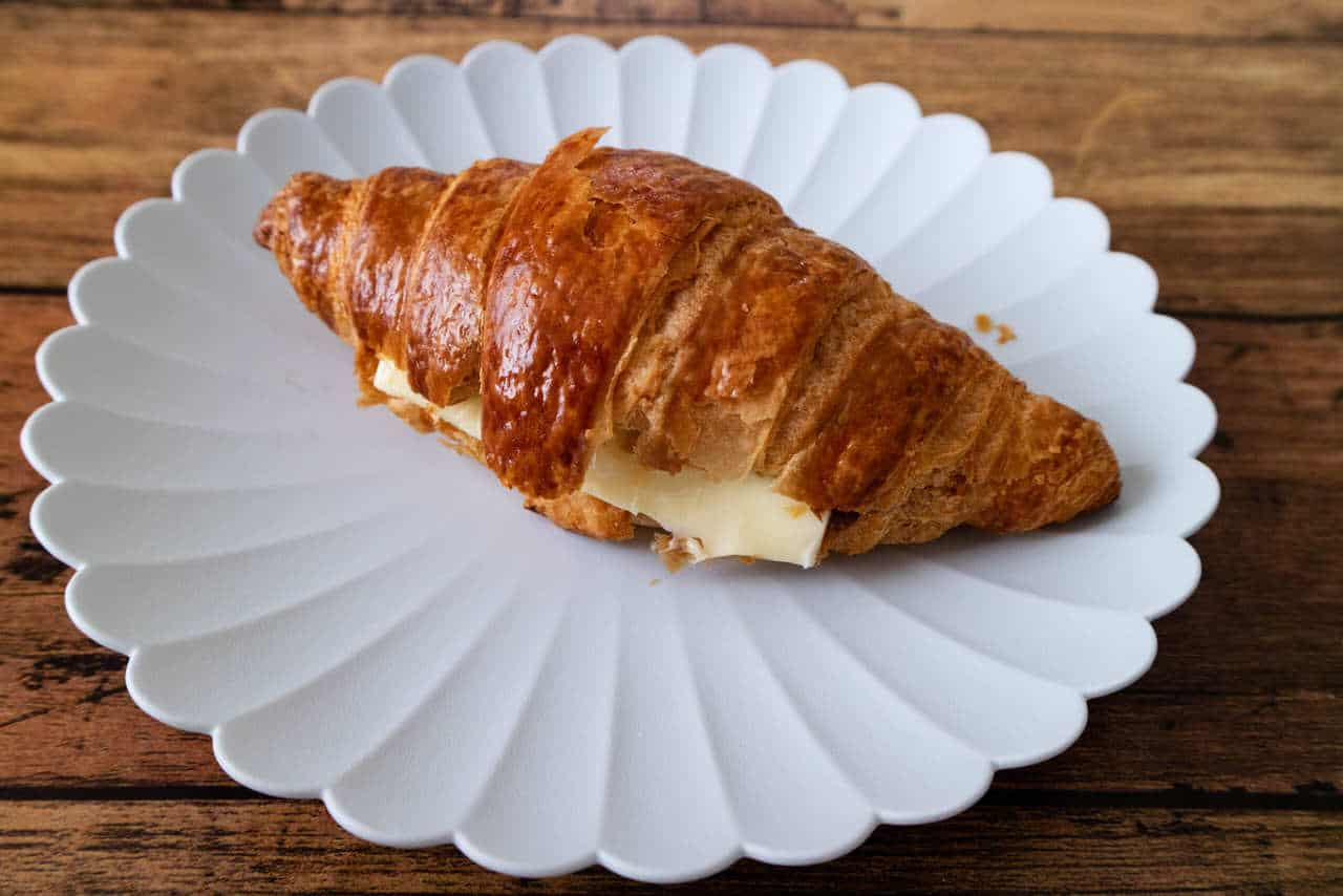 やつどき・自家炊きあんことバターのクロワッサン