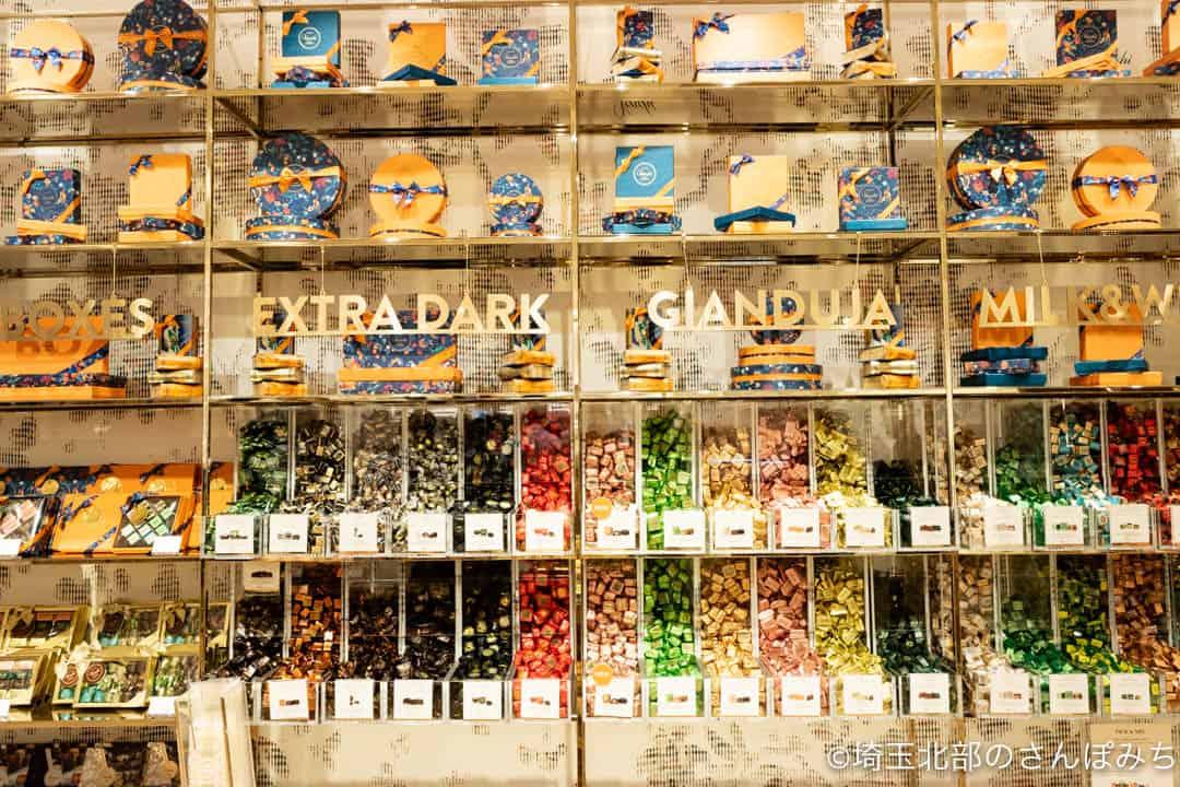 ヴェンキルミネ大宮店量り売りのチョコレート